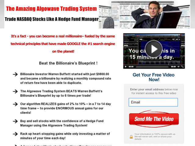 The Amazing Algowave Trading System Earn - $1,000s P/days!