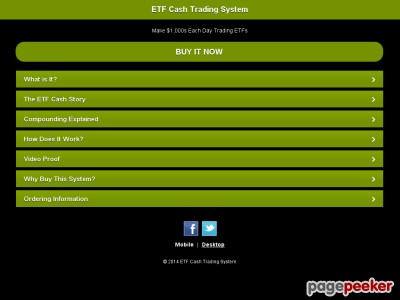 Day Trading Exchange Traded Funds | ETF Trading System Strategies