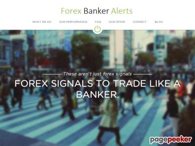 Forex Banker Alerts