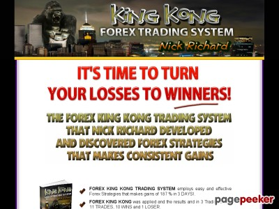 King Kong Forex Trading System