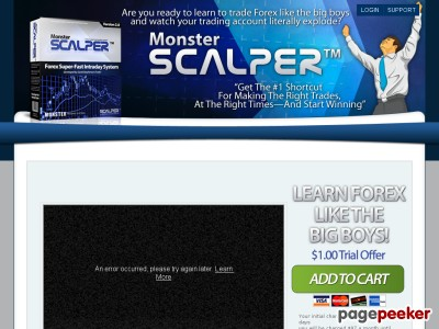Monster Scalper | Forex Automated Trading Systems