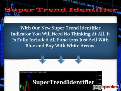 ForexBidLeaders SuperTrendIdentifier Indicator-forex system