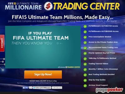 FIFA15 Ultimate Team Millionaire - Autobuyer & Autobidder
