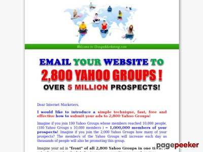 Groups | Groups Marketing | Groups Advertising | Advertising and Marketing