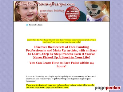 Face Painting Designs | How To Face Paint | Face Painting Courses