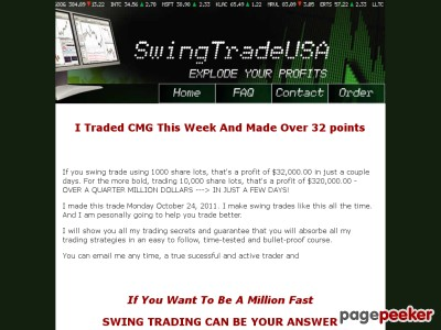 Swing Trade USA - TRADING STRATEGIES FOR STOCK TRADERS