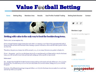 Value Football Betting | Daily Football Bets With ValueValue Football Betting