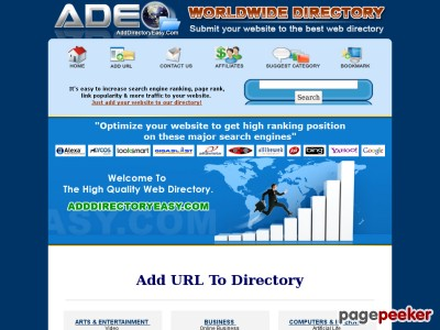 Add URL to The Best Directory Network