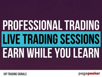 VIP Trading Signals | Learn how to Trade like Professional