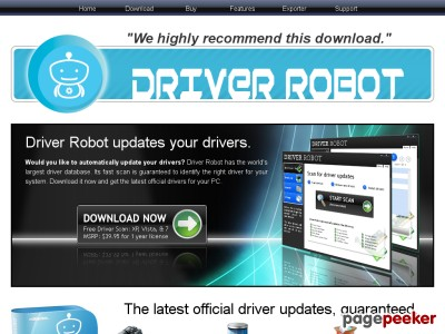Driver Robot: Guaranteed automatic driver updates  Driver Robot: Guaranteed automatic driver updates