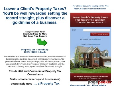 Profitable Property Tax Appeal Service  Profitable Property Tax Appeal Service