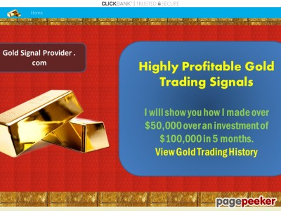Gold Signal Provider – Leader in Profitable Gold Trading Signals