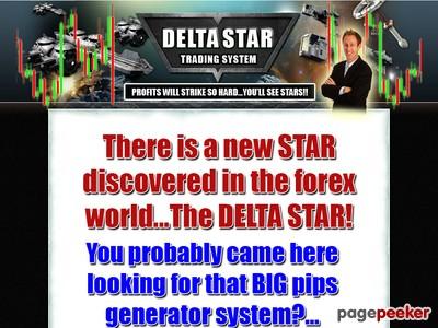 Delta Star Trading System | Profitable Forex Tools