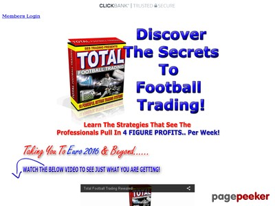 Total Football Trading | Betfair Football Trading Strategies Systems 2017