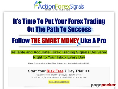 Reliable & Accurate Forex Trading Signals