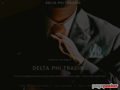 Delta Phi Trading - Day Trading Made Easy - Professional Futures Educators, NinjaTrader Indicators