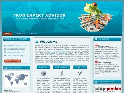Frog Expert Advisor @ multiplyFx.com