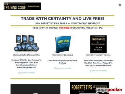8 Simple Rules Sales Page V3 - The Trading Code 2017