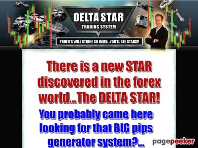 Delta Star Trading System | Profitable Forex Tools 2017