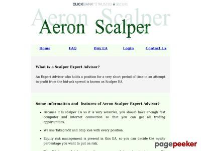 Forex Scalper Trading Robot