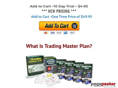 Trading Master Plan - 3 Key Trading Principles That You Must Have