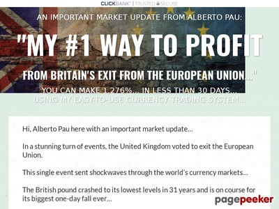 """My #1 Way To Profit From Britain's Exit From The European Union"""