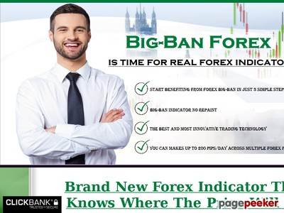 Big Ban Forex Indicator - buy/sell forex signal