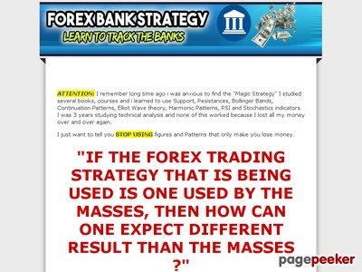 Forex Bank Strategy System