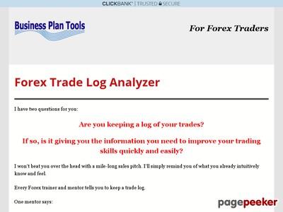 Forex Trade Log Analyzer