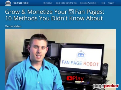 Fan Page Robot | Increase Followers | Facebook autoposter, Instagram automation, auto post to Pinterest Google+ Shopify