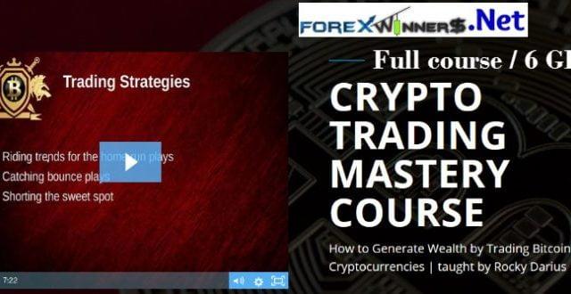 Rocky Darius-Crypto Trading Mastery Course - Forex Winners | Free DownloadForex Winners