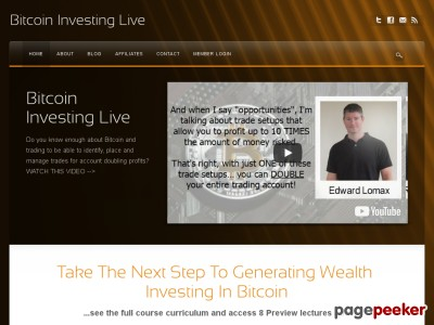Bitcoin Investing Live |