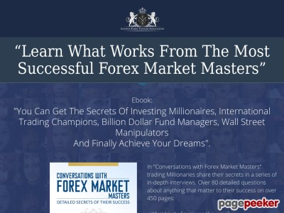 Forex Market Masters  » Conversations with Forex Market Masters – eBook CwFMM