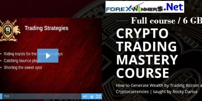 Rocky Darius-Crypto Trading Mastery Course