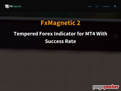 FxMagnetic - Tempered Forex Indicator for MT4 With Success Rate (%)