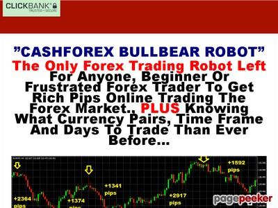 Cashforex Robot Trading System