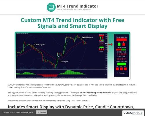 Mt4 forex trading predictive custom indicator