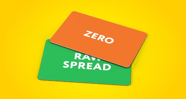 Exness Account Zero Spread & Raw Spread