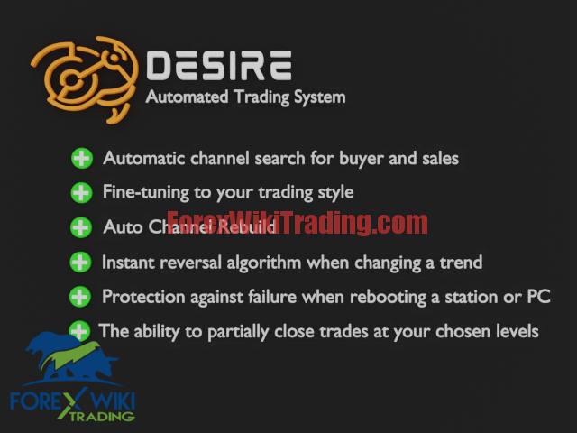 Desire EA – Trend ActionTrading Robot –  Get 100% Profit Evry Month